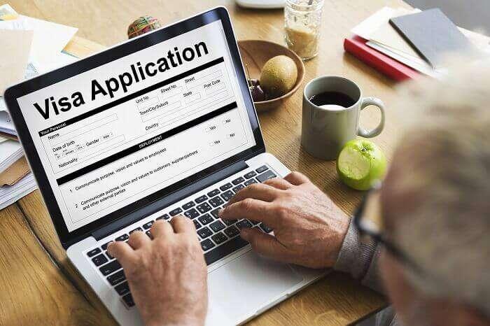 applying for visa