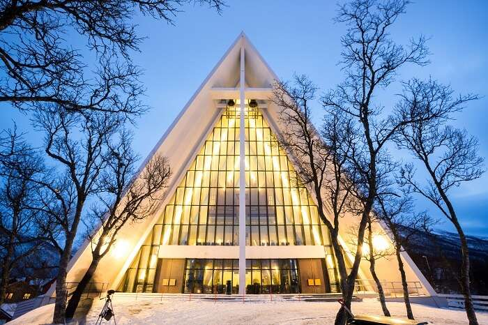 visit Arctic Cathedral norway