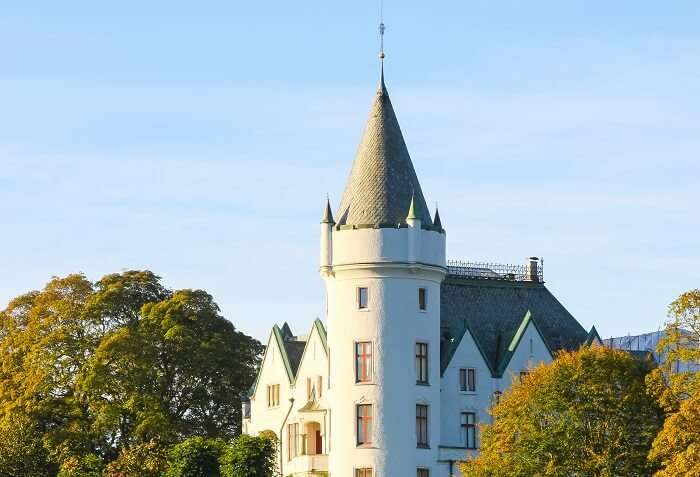 visit Bergen's Royal Residence norway