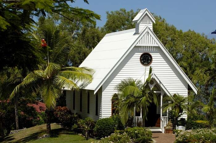All Saint's Chapel, Hamilton Island, Australia, Weddings