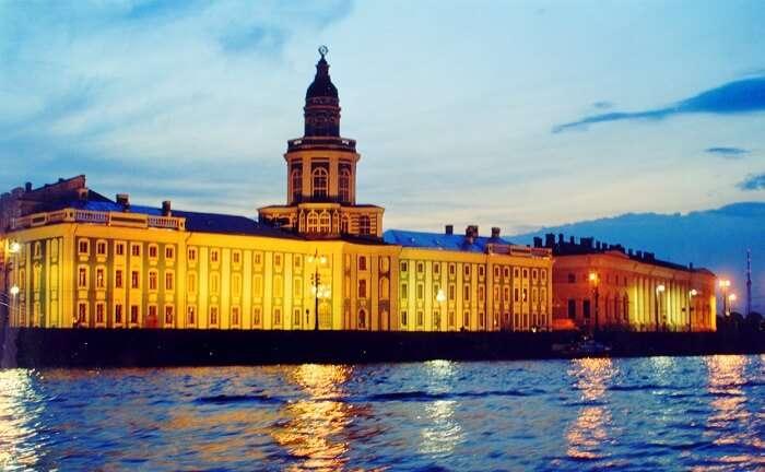 White nights of Saint Petersburg 2018