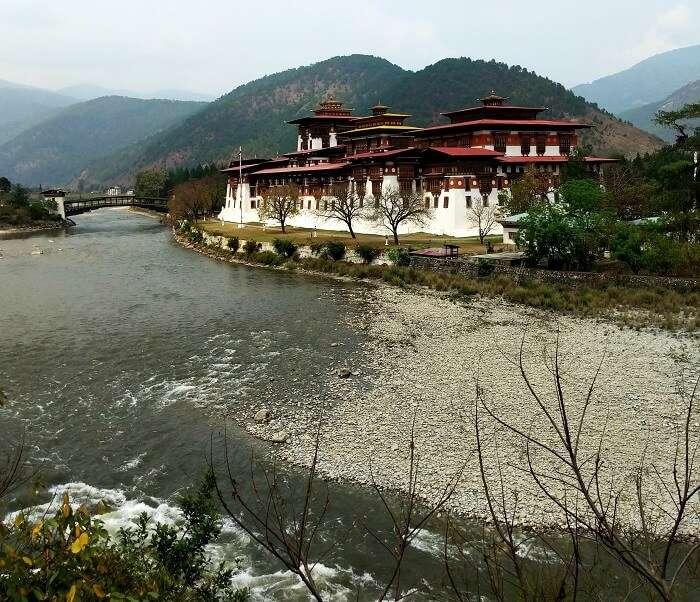 River in Punakha