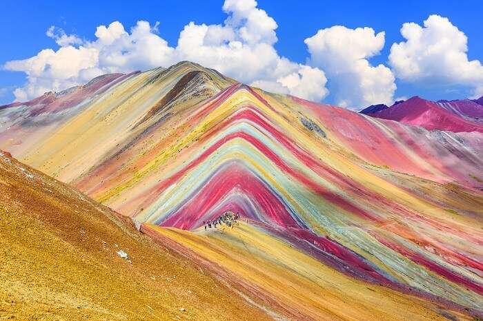 Peru, Rainbow Mountain
