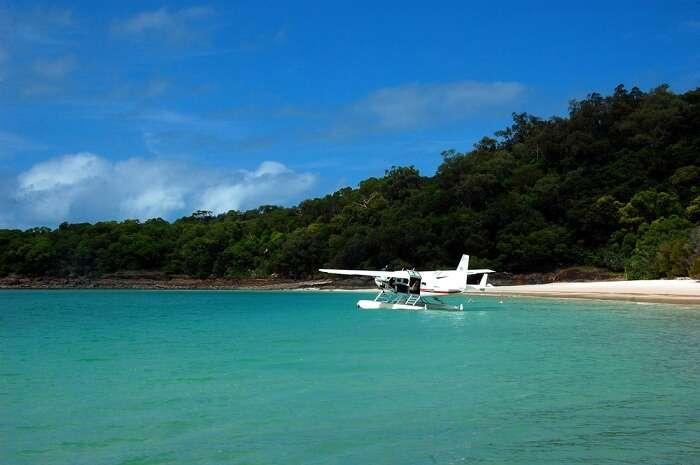 Sea plane, Hamilton Island Australia