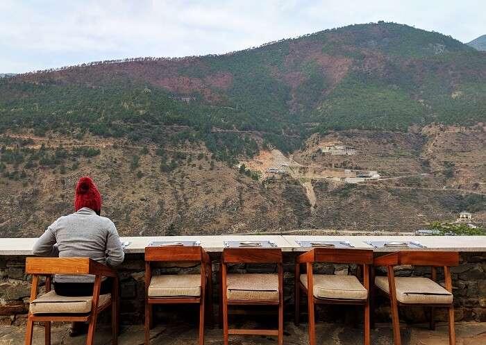 Breakfast in Bhutan