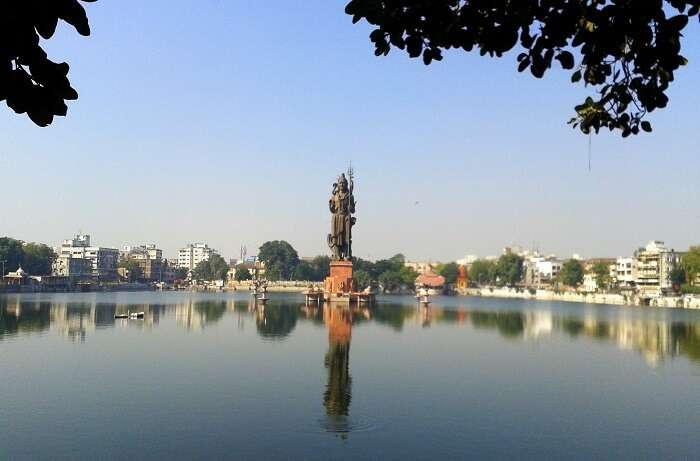 The Sursagar Lake