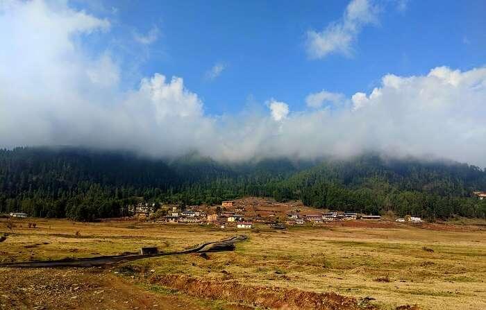 Mountains in Wangdue Bhutan
