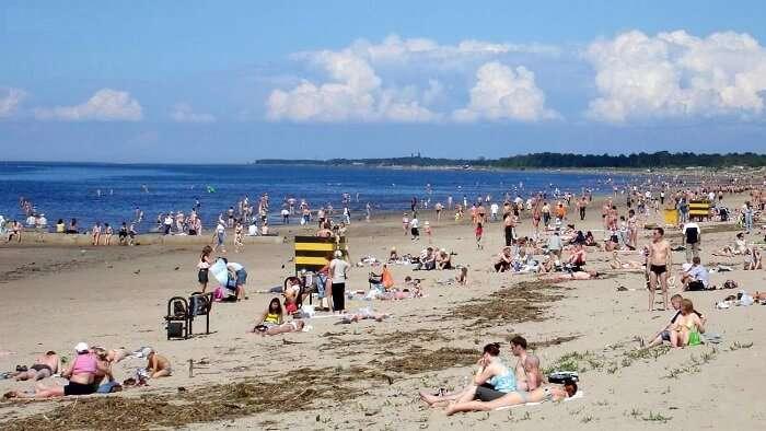Beach Yagrinskiy, Severodvinsk