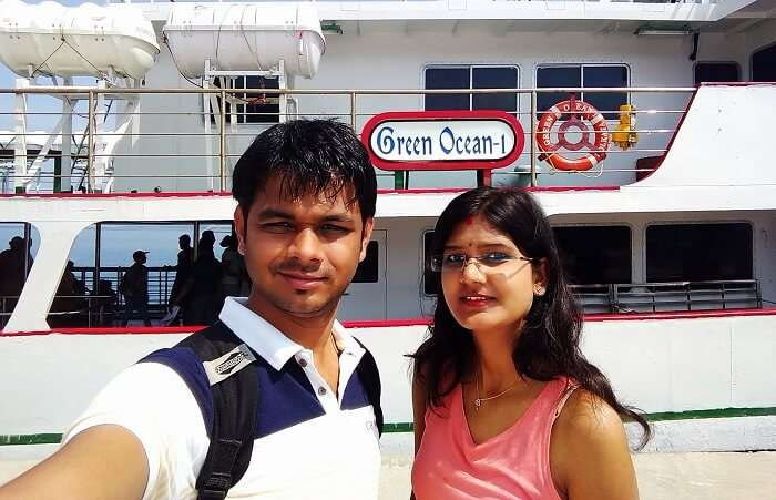 Ferry ride to Port Blair