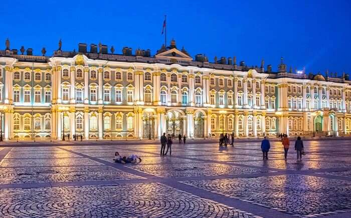 Night of the museums, White nights festival, Saint Petersburg