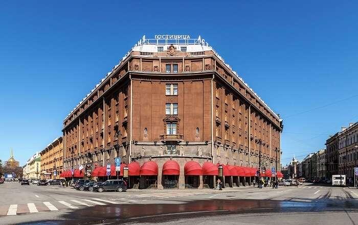 Hotels in St. Petersburg, Russia