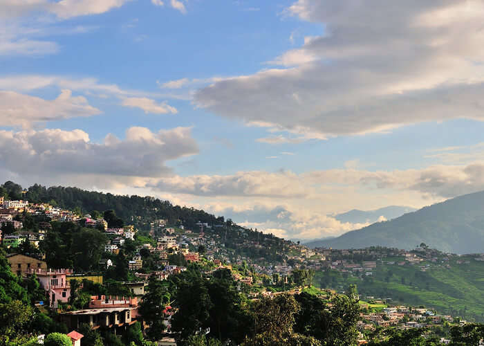 view of Almora mountains