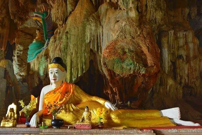 Bayin Nyi Monastery myanmar