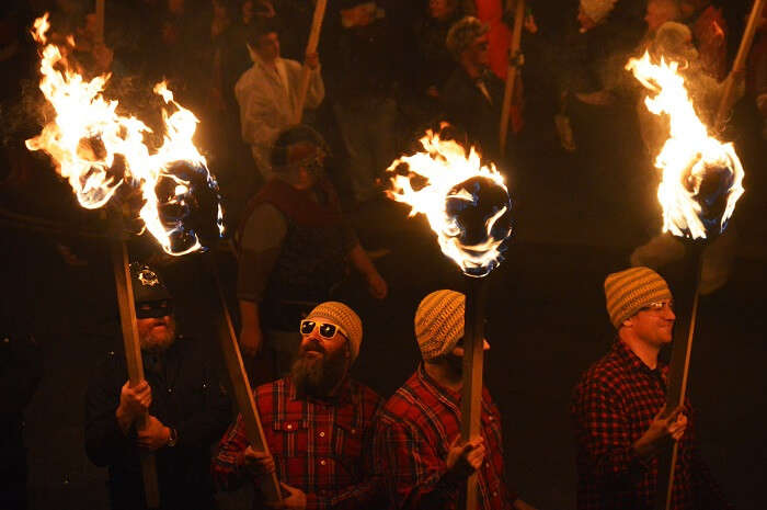 Be part of the Vikings fire festival scotland