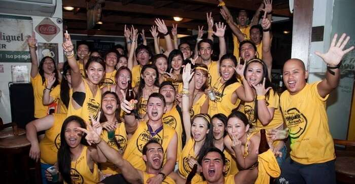 Party at Boracay Pub Crawl