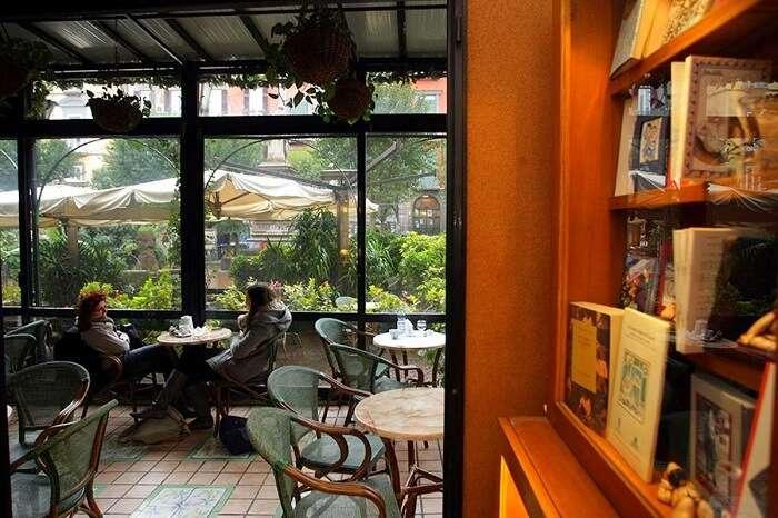 Caffe Letterario rome