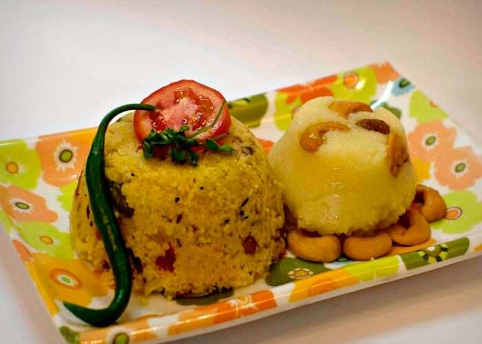 upma bath and kesari bath