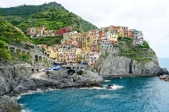 View of Cinque Terre Shore