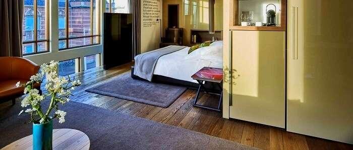 classy wood interior