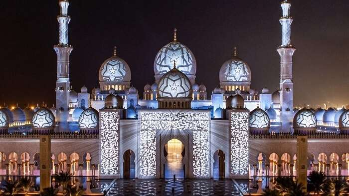 Explore Mosques Draped In Glittering Ramadan Lights in dubai