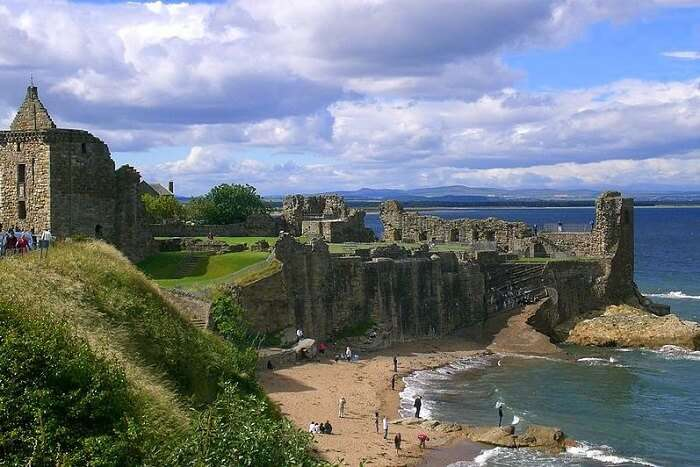 Explore the beaches of St. Andrews scotland