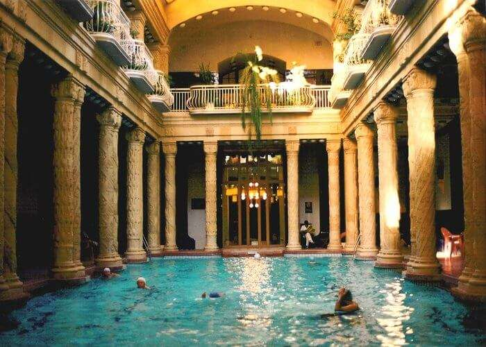 thermal springs in budapest