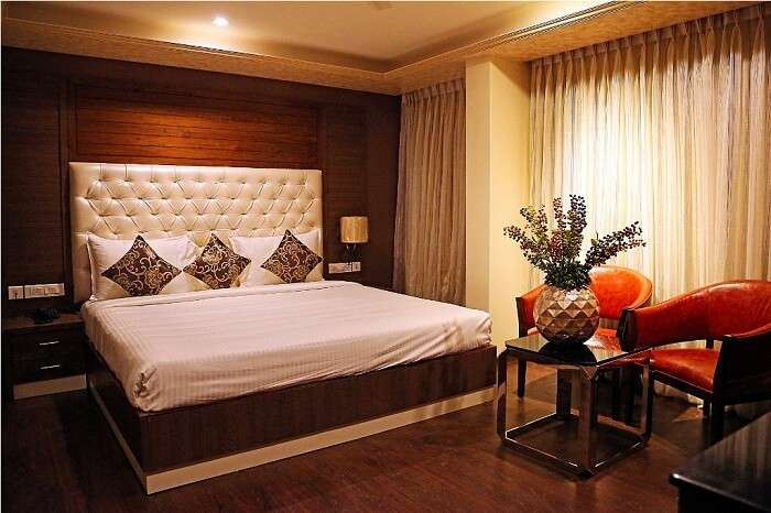 comfortable rooms elegantly decorated