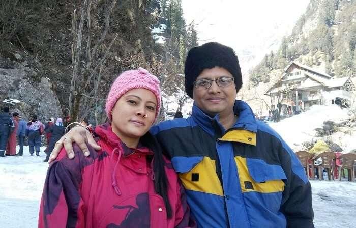 kuldeep manali honeymoon trip: at solang valley