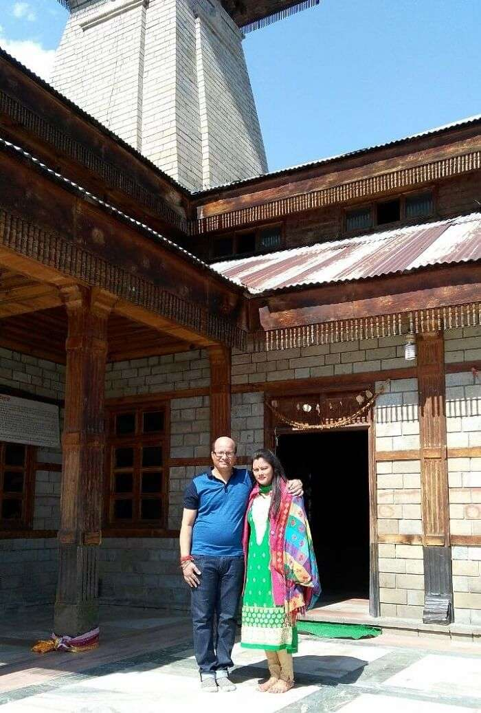 kuldeep manali honeymoon trip: vashisht temple