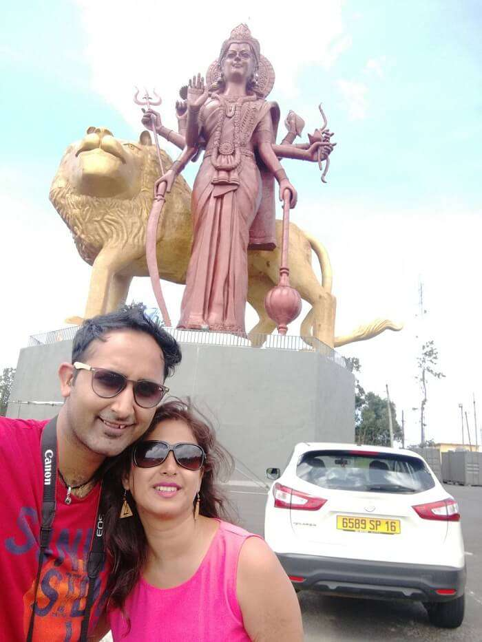 shiva temple in mauritus