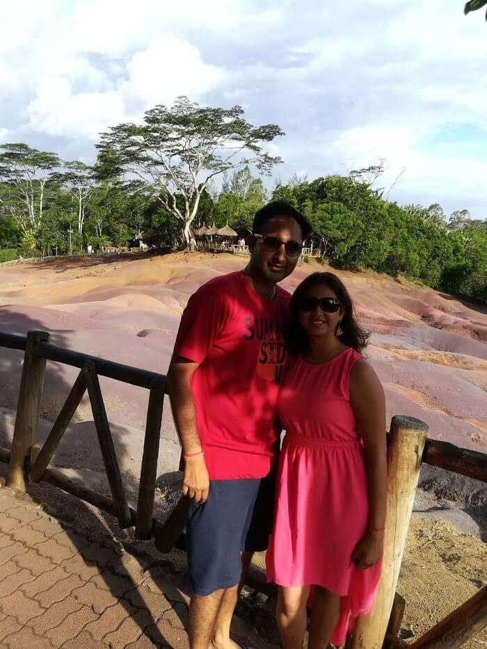 colored earth in mauritius