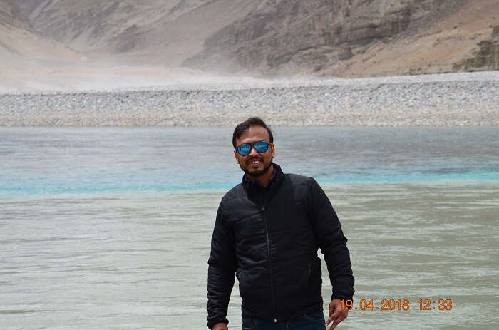 beautiful view of indus river