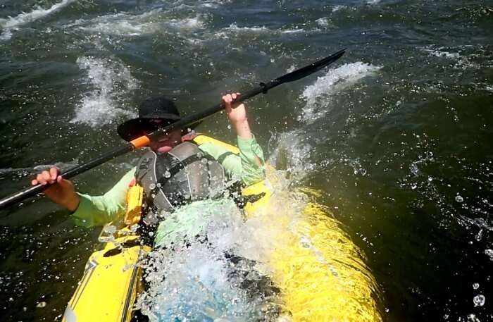 Indulge in kayaking