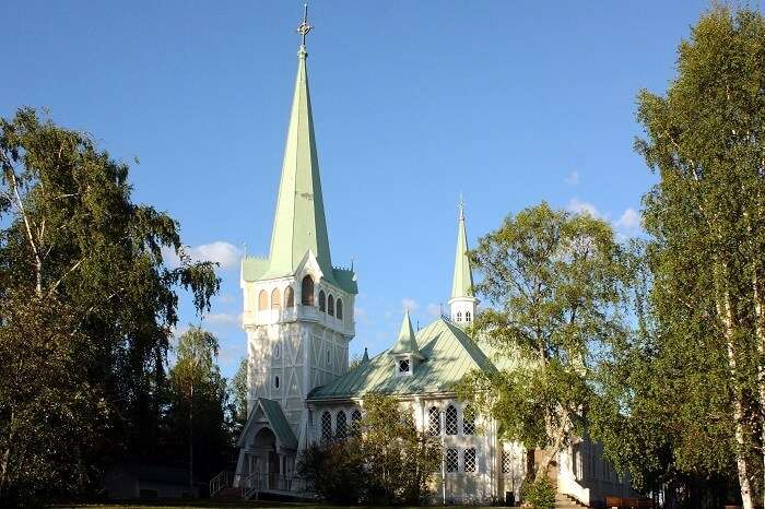 Church at Jokkmokk