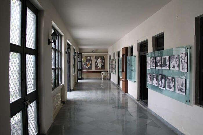 where Gandhi spent his childhood