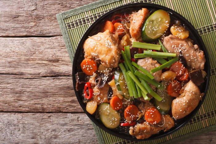 Korean Food Cover