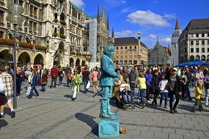 Marienplatz germany