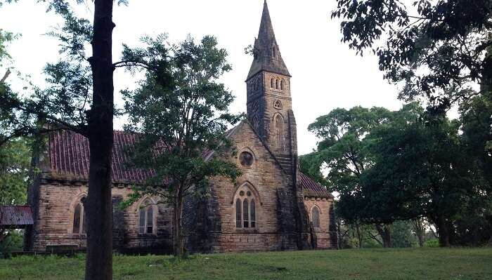 Pachmarhi Catholic Church