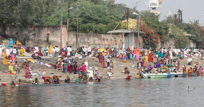 one of the sites of kumbh mela