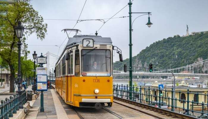 Ride the funicular up to Buda Castle