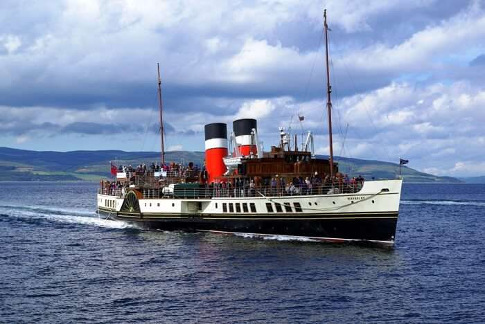 Sail on the Waverley Paddle Steamer scotland