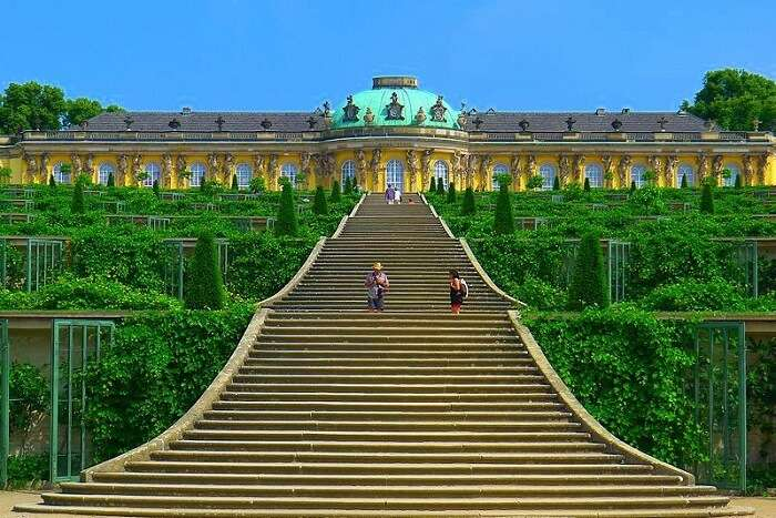 Sanssouci Palace and Park germany