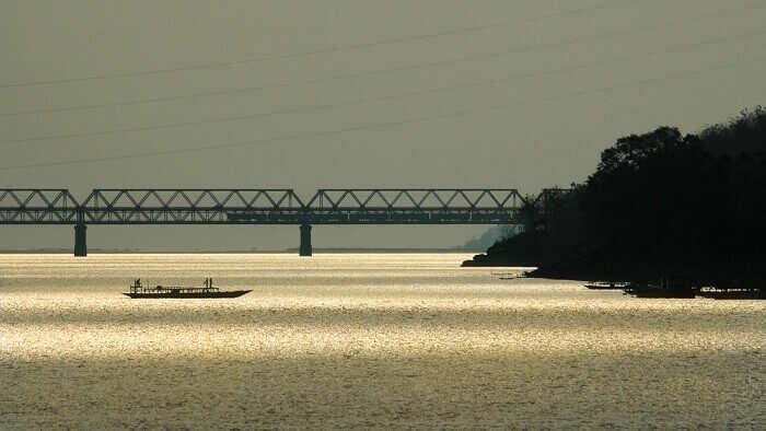 longest bridge above water in India