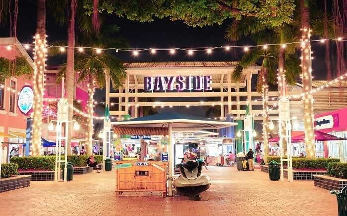 Shop at the Bayside Marketplace