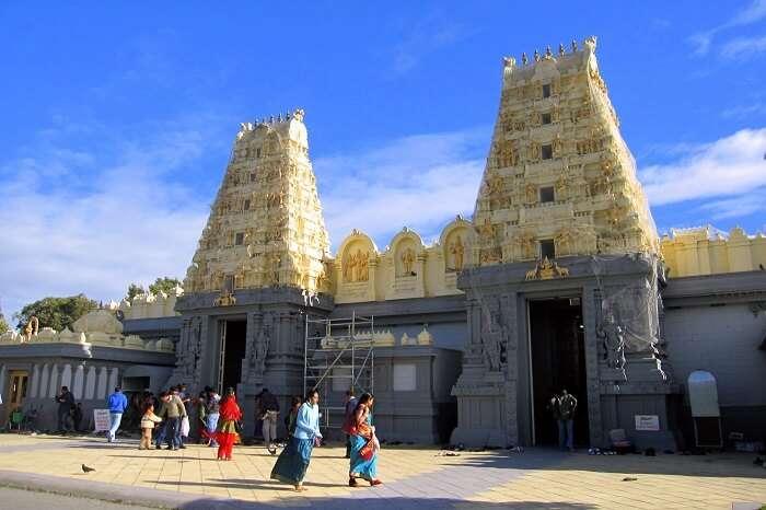 visit Shri Shiva Vishnu Temple in melbourne