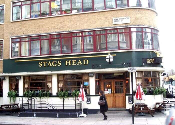 Famous pub in dublin