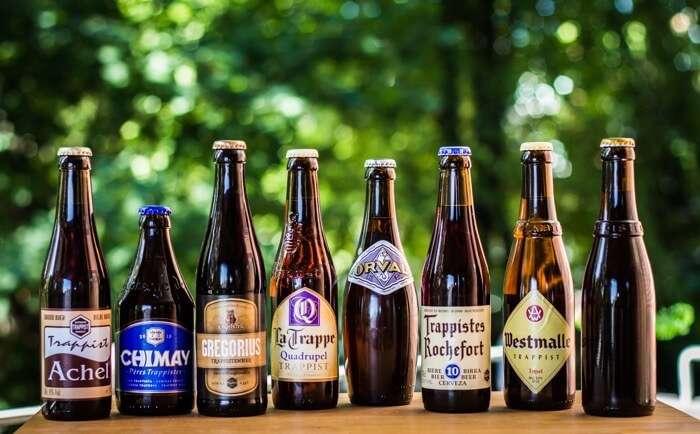 Taste the different varieties of craft beer