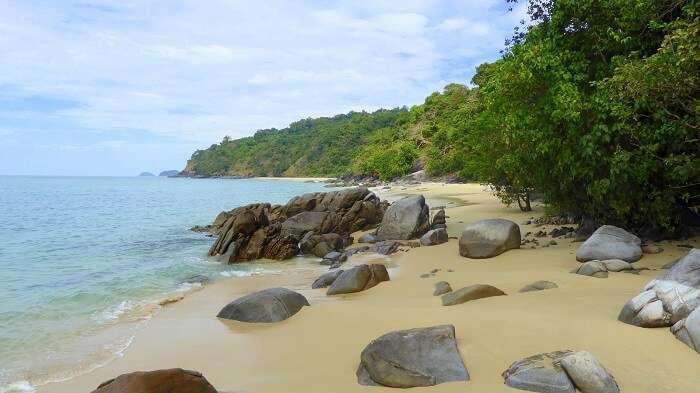 Teyzit beach myanmar