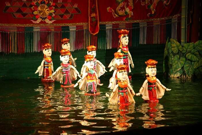 Thang Long Puppet Theatre hanoi