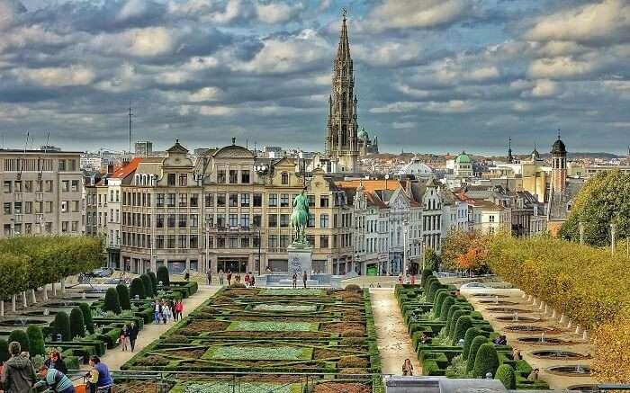 The iconic capital city
